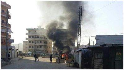 Du kích người Kurd đánh bom xe, 3 tay súng nổi dậy thiệt mạng ở Afrin