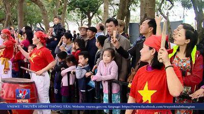Khai mạc lễ hội Bơi chải thuyền rồng Hà Nội mở rộng