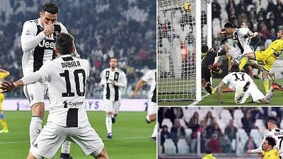 Cristiano Ronaldo tỏa sáng, Juventus bất bại tại Serie A