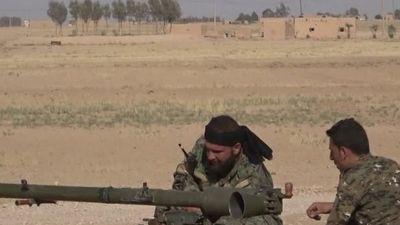 Syria: Bí mật bên trong kho vũ khí lớn của IS mới được phát hiện ở Deir Ezzor