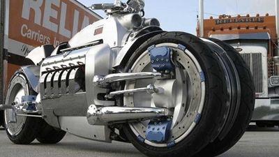 Siêu mô tô Tomahawk nhanh nhất thế giới được trang bị động cơ V10