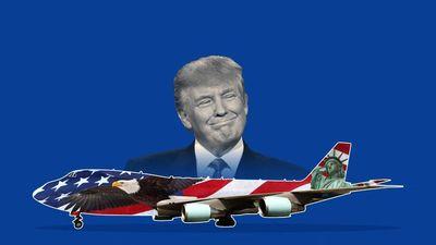 Bí mật chiếc tủ lạnh giá 24 triệu USD trên máy bay chở ông Trump