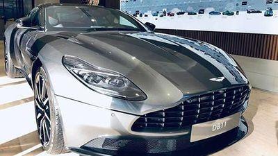 Đại gia Vũng Tàu tậu siêu xe Aston Martin DB11 V8