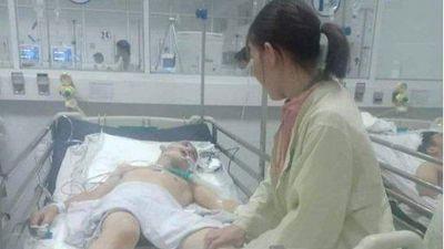 Hỗn chiến sau tiệc chia tay nhập ngũ, một thanh niên bị đánh nhập viện