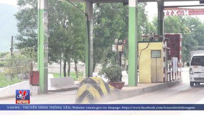 Chính thức tạm dừng thu phí tại trạm Cầu rác Hà Tĩnh