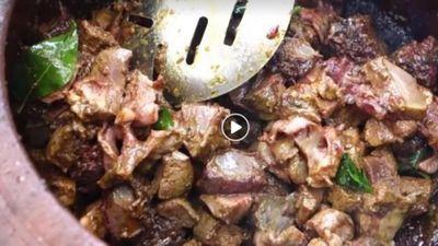 Chế biến thịt lợn kiểu Ấn hút hơn triệu lượt xem vì quá bá đạo