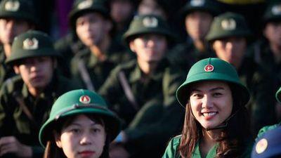 Có trường quân đội chỉ tuyển 2 thí sinh nữ