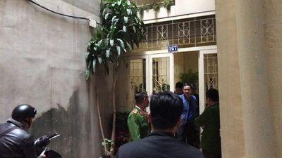 Công an khám nhà cựu Bộ trưởng bộ Thông tin và Truyền thông Trương Minh Tuấn