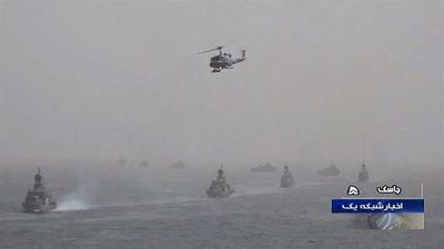 Dàn chiến hạm mới toanh của Iran phô 'cơ bắp' giữa lúc căng thẳng với Mỹ lên cao