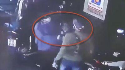 Đánh gãy mũi nữ nhân viên cây xăng ở Vũng Tàu, gã khách đi SH bị truy lùng