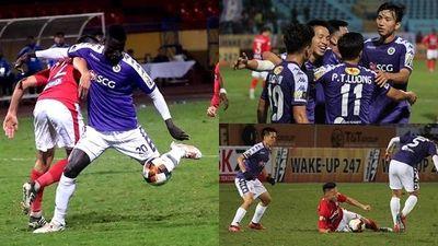 Toàn cảnh Hà Nội FC 5-0 Than Quảng Ninh: Cơn ác mộng ở Hàng Đẫy