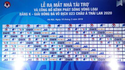 Xem U.23 Việt Nam đá vòng loại châu Á qua kênh nào?