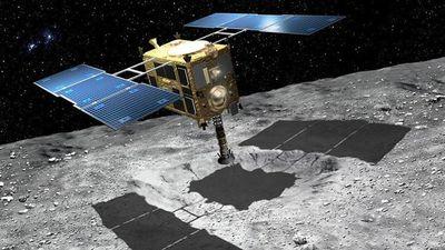 Nhật cho nổ trên thiên thạch để nghiên cứu nguồn gốc Hệ Mặt Trời