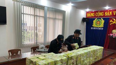 Cận cảnh 300kg ma túy trong đường dây mua bán xuyên quốc gia