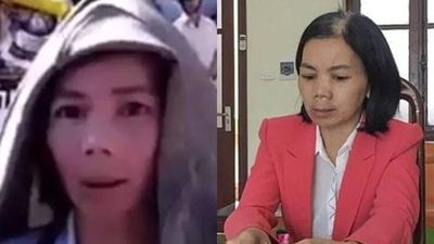 Lộ clip vợ Bùi Văn Công thản nhiên kể chuyện phát hiện xác nữ sinh giao gà với vẻ mặt vô tội