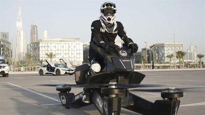 Cảnh sát Dubai mua mô-tô bay của Nga tuần tra