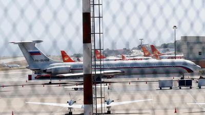 Máy bay quân sự Nga 'chở 100 binh sĩ' đến Venezuela