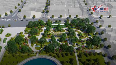 Bãi đỗ xe lấy đất CV Cầu Giấy được đề xuất xây dựng, khai thác bao lâu?
