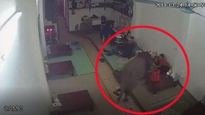 CLIP HY HỮU: Giữa thủ đô Hà Nội, cả nhà đang ngủ bị trâu vào húc từng người rồi lại ra đường... chơi tiếp