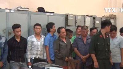 Triệt phá sới bạc lớn tại Đồng Nai