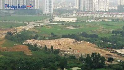 'Núi' phế thải cao như nhà tầng ở phường Xuân La