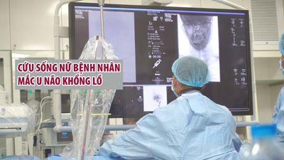 15 giờ phẫu thuật lấy khối u khổng lồ hố sau, cứu sống bệnh nhân