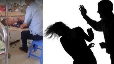 Không thể chấp nhập với hành vi của người đàn ông đánh vợ nằm viện