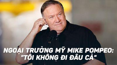 Ngoại trưởng Mỹ Pompeo vẫn tham gia đàm phán phi hạt nhân với Triều Tiên