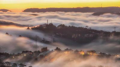 Tháng 4, thời điểm lên đường ngắm sương mù Đà Lạt tuyệt nhất