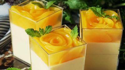 Công thức đơn giản làm mousse đào thơm ngon giải nhiệt ngày nóng