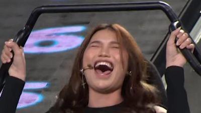 Người mẫu Quỳnh Châu bị chê vì liên tục la hét trong Nhanh như chớp