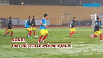 Liên đoàn bóng đá Việt Nam thay đổi lịch chuyển nhượng giữa mùa