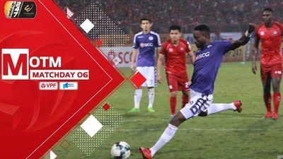 Clip: Cú đúp của Hoàng Vũ Samson giúp Hà Nội FC thắng ngược Hải Phòng