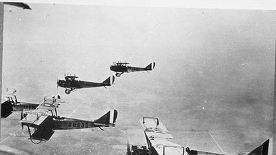Ngỡ ngàng cách các phi công 'lao vào nhau' trong Thế chiến thứ 1