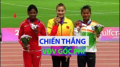 Quách Thị Lan đoạt HCV 400m rào châu Á sau khi đánh bại VĐV gốc châu Phi