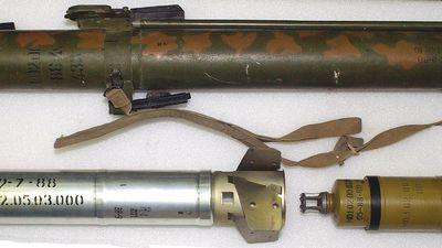 Súng phóng lựu nhiệt áp RSHG-1 được chiến binh Libya sử dụng trong trận chiến Tripoli