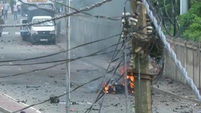 Bom nổ tung chát chúa trong mưu đồ khủng bố ở Sri Lanka