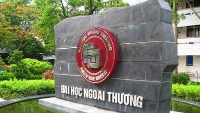 Đại học Ngoại thương xóa tên một thí sinh Sơn La được nâng điểm
