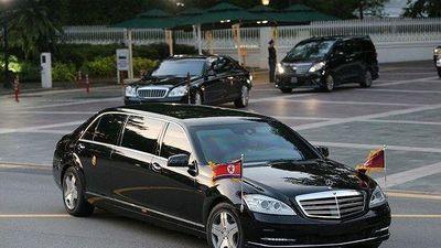 Lộ diện siêu xe ông Kim sử dụng tại thượng đỉnh Nga -Triều