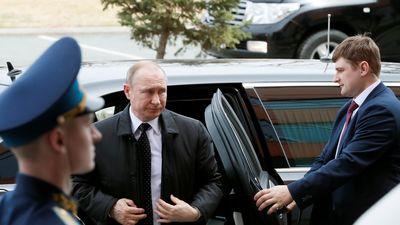 TT Putin bay trực thăng đến đảo Russky gặp Chủ tịch Kim Jong Un