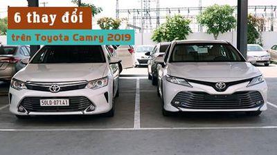 6 thay đổi nổi bật trên Toyota Camry 2019 so với thế hệ cũ