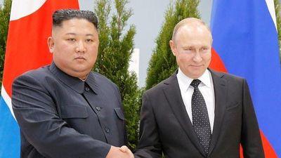 Ông Putin và ông Kim Jong Un cùng ngồi vào bàn đàm phán mở rộng