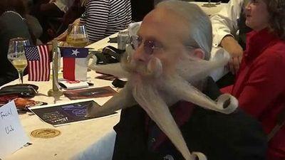 Độc đáo cuộc thi râu và ria thế giới, có cả mục dành cho quý bà