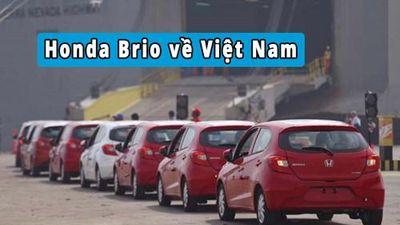 Honda Brio về Việt Nam, phân khúc xe cỡ nhỏ 'dậy sóng'
