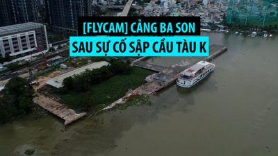 Khu cảng Ba Son sau sự cố sập cầu tàu K nhìn từ trên cao