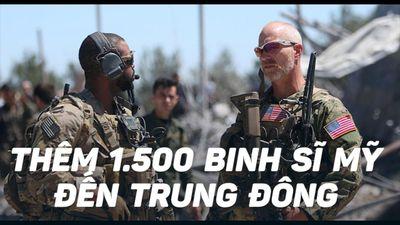 Tổng thống Trump sẽ điều 1.500 binh sĩ đến Trung Đông