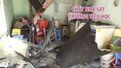 Chập điện bàn thờ, ngôi nhà cạnh trường tiểu học trung tâm Đà Nẵng cháy tan hoang