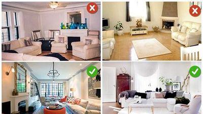 10 sai lầm thiết kế phòng khách hầu như ai cũng mắc