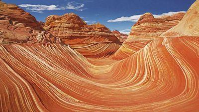 Khu đá sa thạch 200 triệu năm tuổi giống vùng đất sao Hỏa