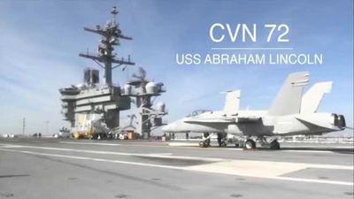 Sống trên tàu sân bay USS Abraham Lincoln Mỹ áp sát Iran